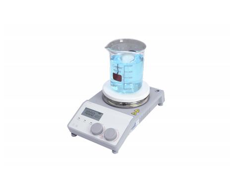 Agitador Magnético Digital 1500 Rpm com Aquecimento e Vidro Cerâmico e Resistência Blindada