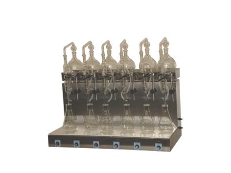 Destilador de Fenol ou Nitrogênio Amoniacal
