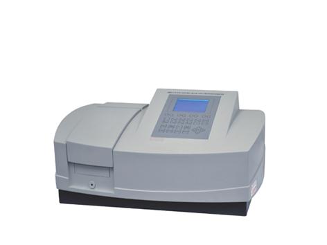 Espectrofotômetro UV Visível Duplo Feixe com Varredura