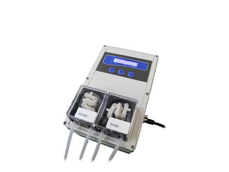 Medidor/Controlador de pH Industrial Adição de Ácido ou Base