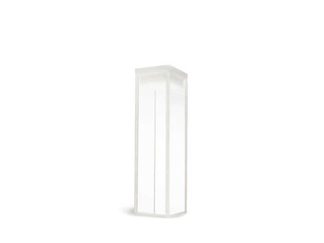 Cubeta em Vidro Óptico/Quartzo 4 Faces Polidas Passo 10mm Volume 3,5ml