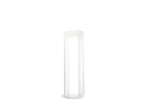 Cubeta em Vidro Óptico/Quartzo 2 Faces Polidas Passo 5mm Volume 1,7ml