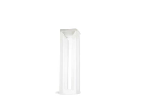 Cubeta em Vidro Óptico/Quartzo 2 Faces Polidas Passo 10mm Volume 1,7ml