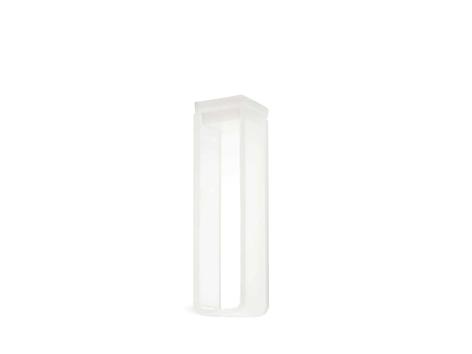 Cubeta em Vidro Óptico/Quartzo 2 Faces Polidas Passo 10mm Volume 3,5ml